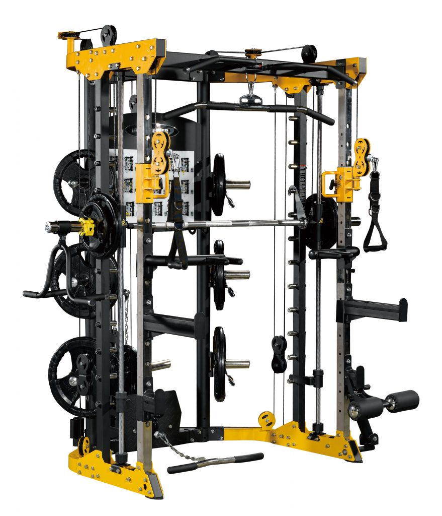 Smith machine a poids