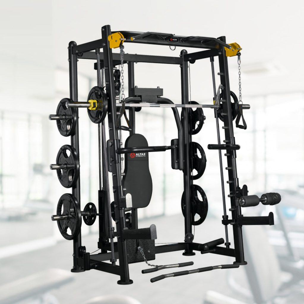 LIGHT-COMMERCIAL STRENGTH EQUIPMENT SMITH MACHINE AL-3000