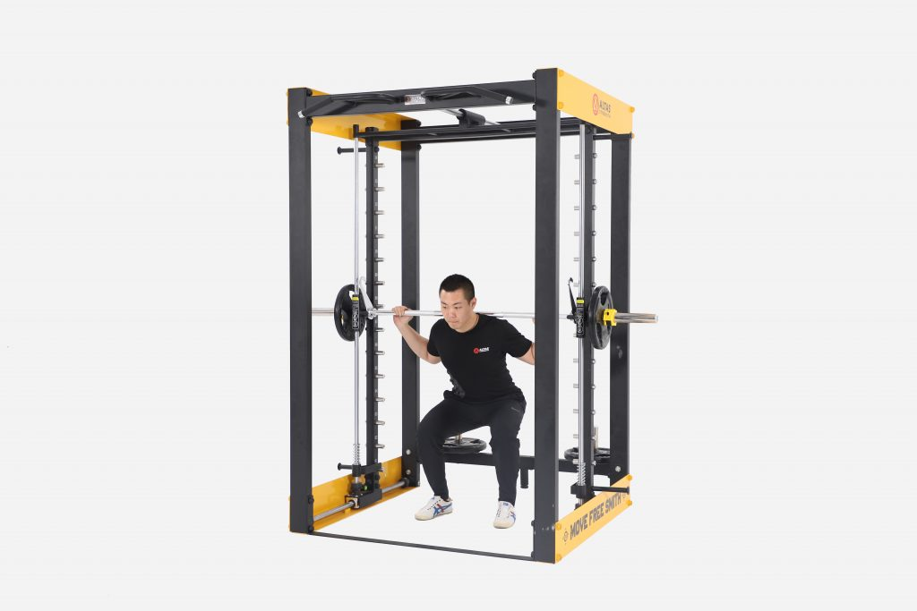 LIGHT-COMMERCIAL STRENGTH EQUIPMENT MOVABLE SMITH MACHINE AL-3050
