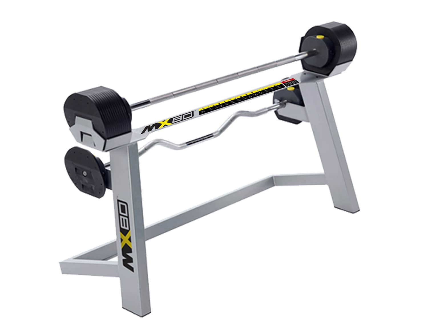 Ensemble de barbell Adjustable + Rack