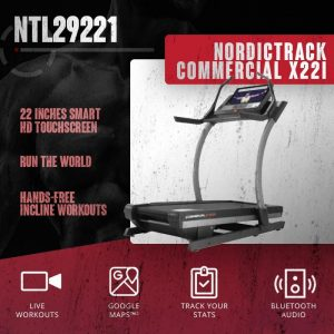 tapis roulant nordictrack commercial x22i