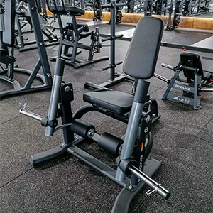 equipement gym plate loaded