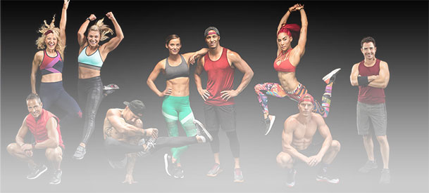 World-class personal trainers provide motivation and expertise.