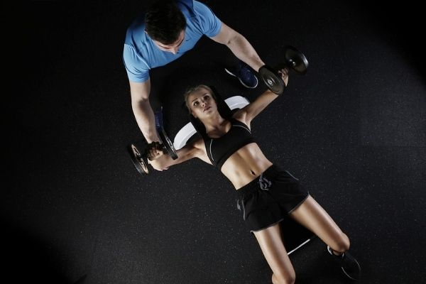 fitness trainer using NordiTrack